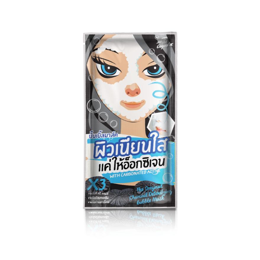 บับเบิ้ล มาส์ค Charcoal Detoxifying Bubble Mask